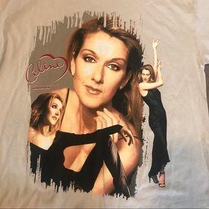 "Shirts - Vintage Celine Dion 99 ""Lets Talk About Love"" Tee"
